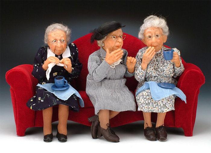 Смешные фото стариков и старушек - забавная коллекция 2018 5