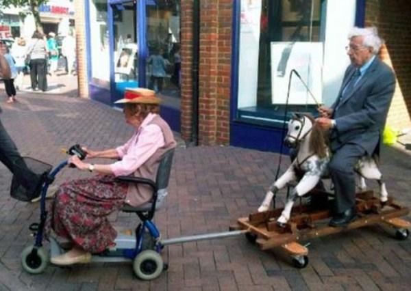 Смешные фото стариков и старушек - забавная коллекция 2018 8