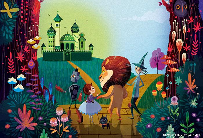 Волшебник Изумрудного Города - красивые картинки и рисунки 5
