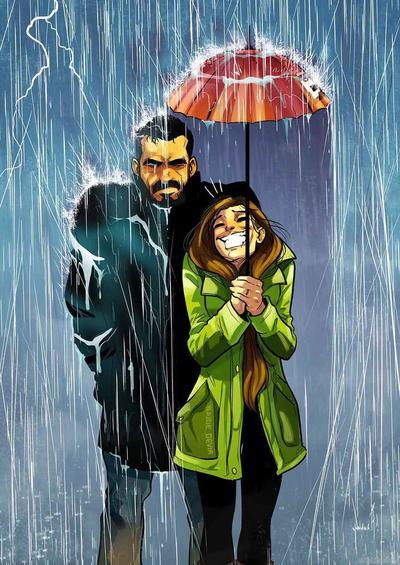 Забавные комиксы Иегуды Ади Девира про его веселую жизнь с супругой 26