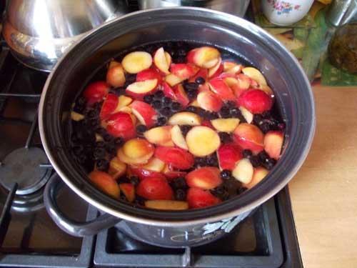 Как правильно варить компот из свежих или сушеных яблок - рецепт 2