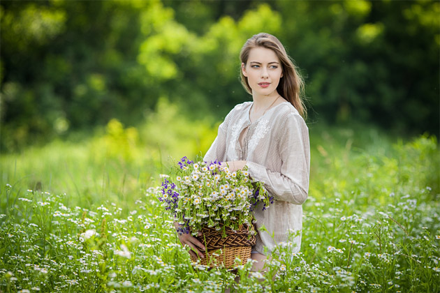 Картинки красивых женщин - милая подборка фотографий №28 1