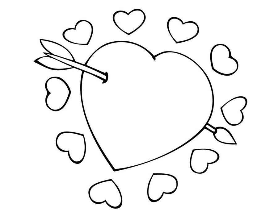 Классные и красивые картинки для срисовки сердечки и сердца - сборка 12