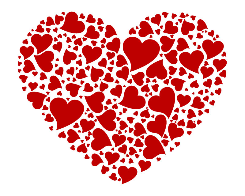 Классные и красивые картинки для срисовки сердечки и сердца - сборка 3