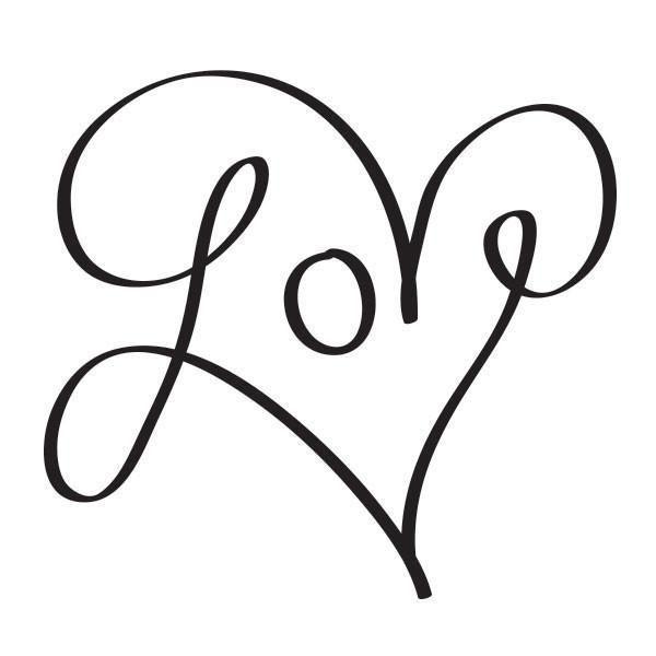 Классные и красивые картинки для срисовки сердечки и сердца - сборка 9