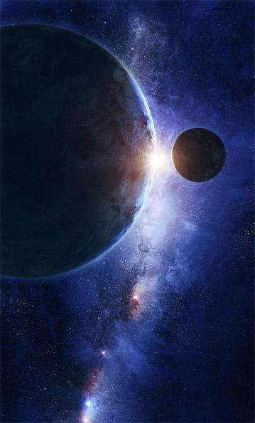 Классные и прикольные картинки на аву космос и звезды - подборка 1