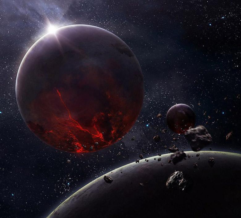 Классные и прикольные картинки на аву космос и звезды - подборка 10