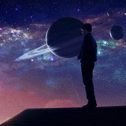 Классные и прикольные картинки на аву космос и звезды - подборка 14