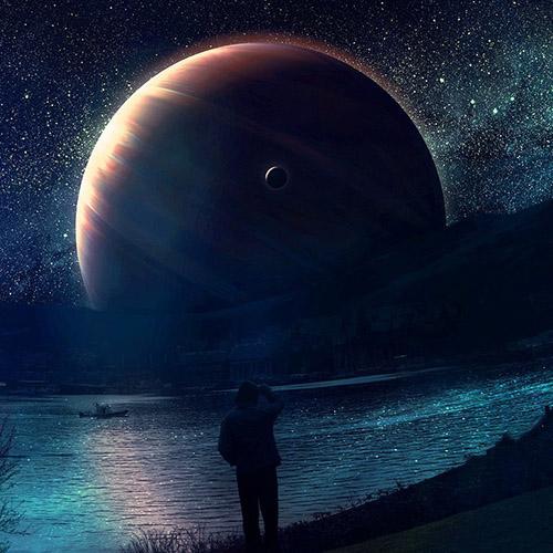 Классные и прикольные картинки на аву космос и звезды - подборка 8