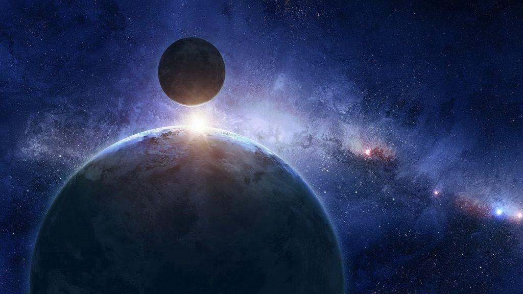 Классные и прикольные обои космоса и неба на рабочий стол - сборка №7 2