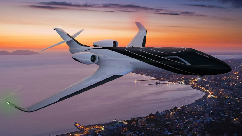 Красивые и необычные фотографии самолетов - лучшая подборка 12