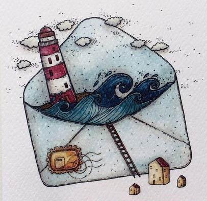 Красивые и прикольные арты для срисовки в личный дневник - сборка 19