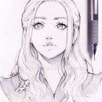 Красивые и прикольные арты для срисовки в личный дневник - сборка 27