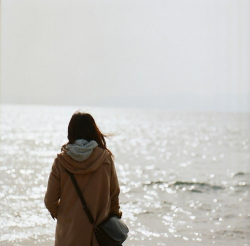 Красивые картинки на аву девушки, море, пляж, вода - подборка 2