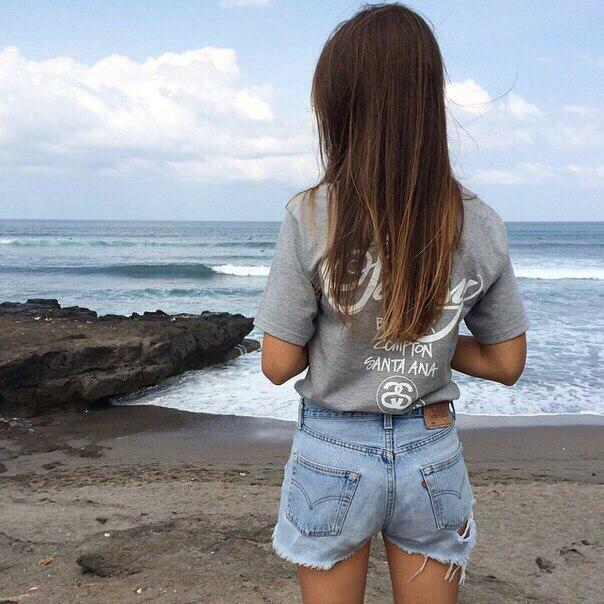 Красивые картинки на аву девушки, море, пляж, вода - подборка 9