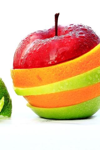 Красивые картинки на телефон фрукты - самые прикольные, сборка 14