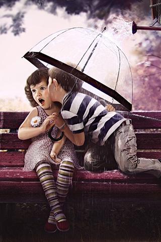 Красивые картинки про любовь на заставку телефона - подборка 6
