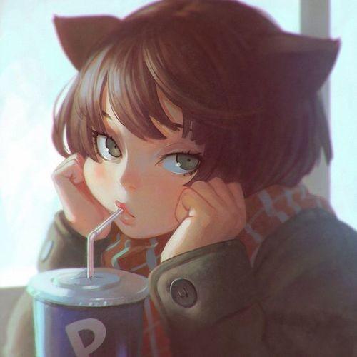 Красивые картинки сладостей и девушек на аватарку - подборка 5