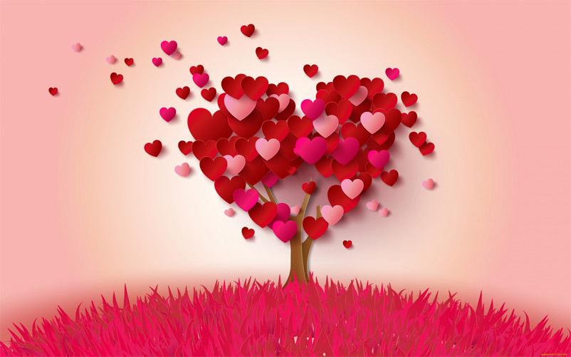 Красивые картинки с сердечками про любовь и чувства - без надписей 4