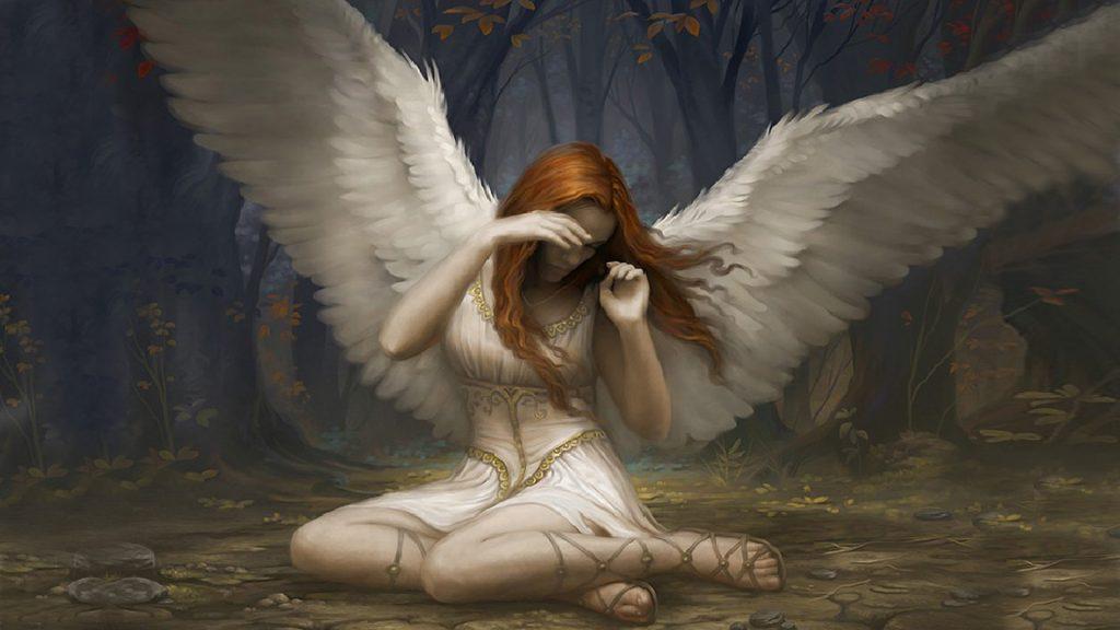 Красивые обои на рабочий стол Ангелы - прикольная подборка 16