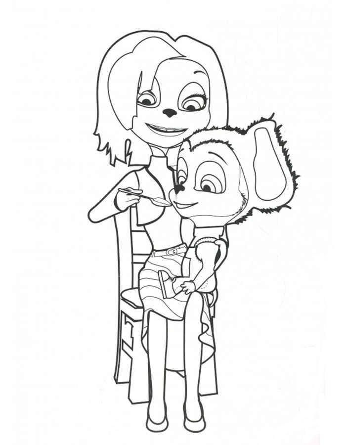 Красивые раскраски Барбоскины для детей - прикольная подборка 1