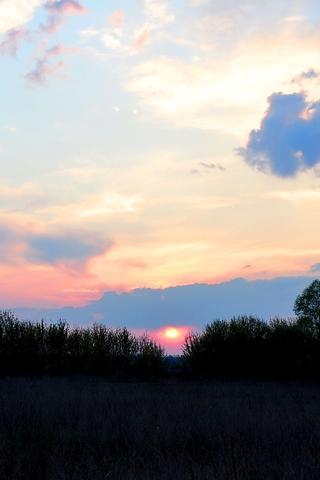Крутые и красивые картинки на телефон закат, закат Солнца 18