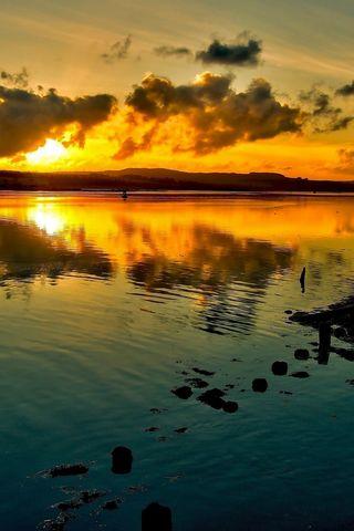 Крутые и красивые картинки на телефон закат, закат Солнца 20