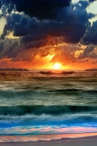 Крутые и красивые картинки на телефон закат, закат Солнца 3