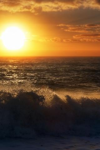 Крутые и красивые картинки на телефон закат, закат Солнца 7
