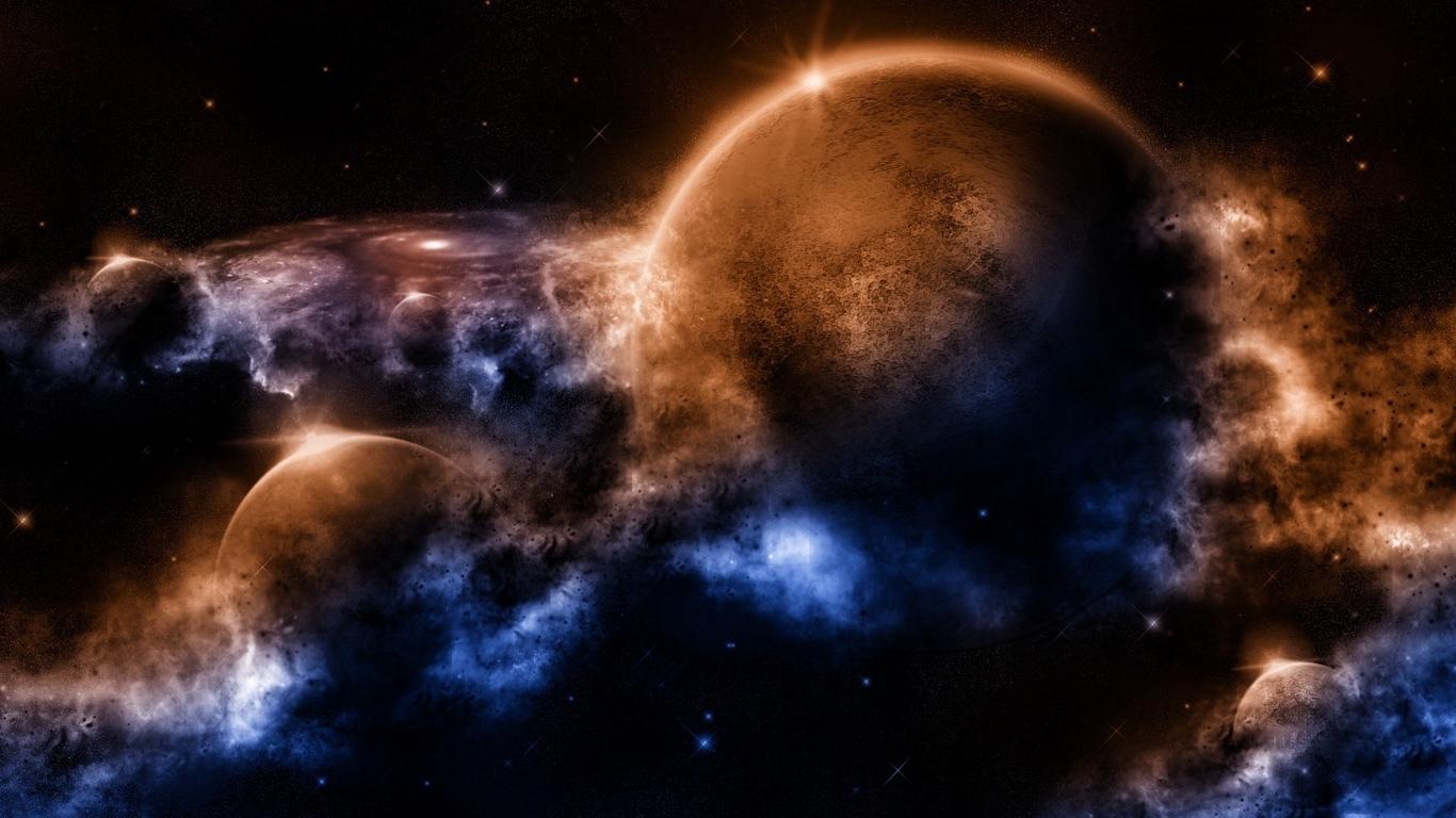 Крутые и красивые обои космоса на рабочий стол - коллекция №6 13