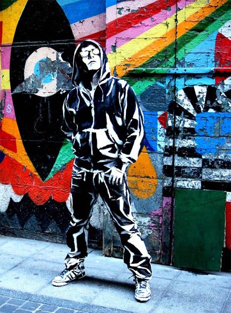 Крутые стрит-арт граффити, картинки граффити - прикольная сборка 3