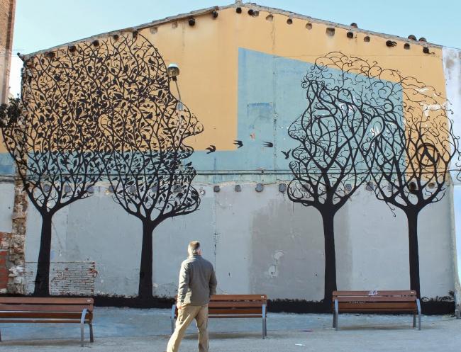 Крутые стрит-арт граффити, картинки граффити - прикольная сборка 7