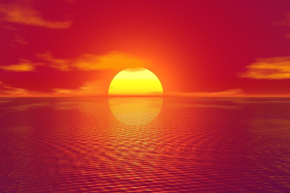 Невероятный и красивый закат Солнца летом - картинки и изображения 7