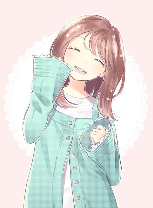 Очаровательные и милые аниме картинки - красивая коллекция 10