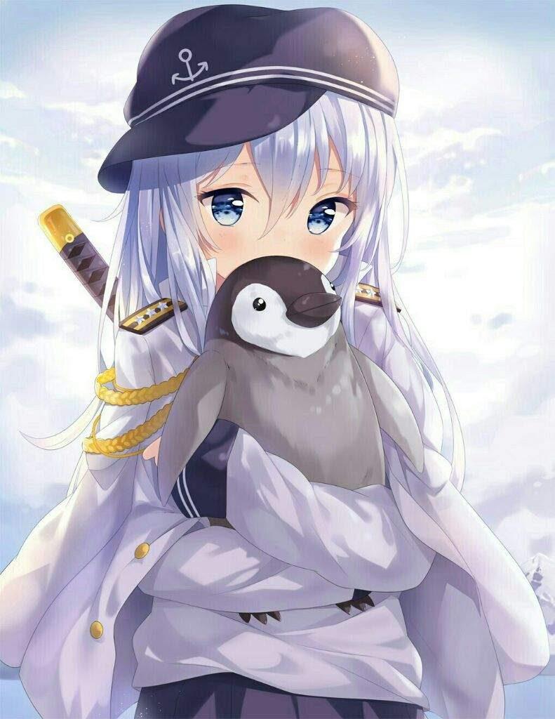 Очаровательные и милые аниме картинки - красивая коллекция 11
