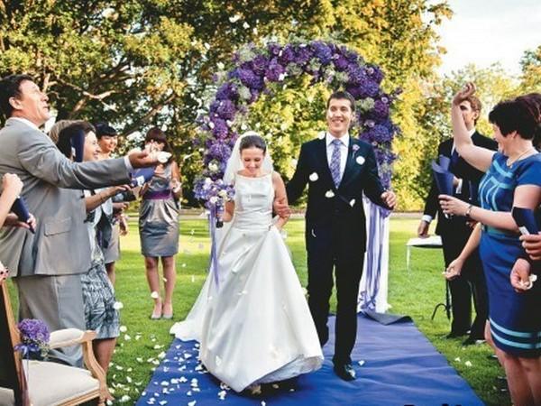 Очень красивые картинки свадьбы, фото с торжества - подборка 9