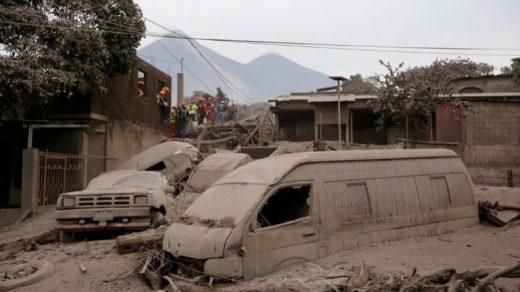 Последствия извержения вулкана Фуэго в Гватемале - фото, новости 1