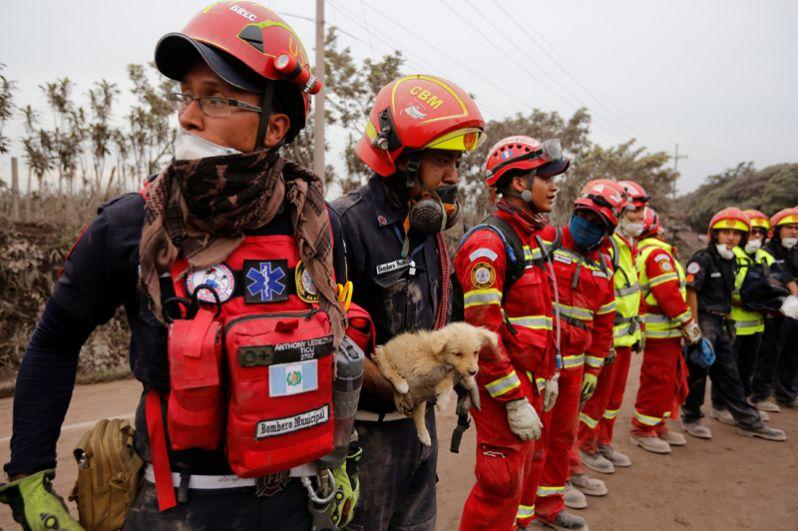 Последствия извержения вулкана Фуэго в Гватемале - фото, новости 3