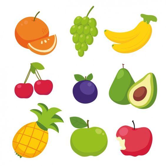 Прикольные и кавайные картинки фруктов для срисовки - подборка 8