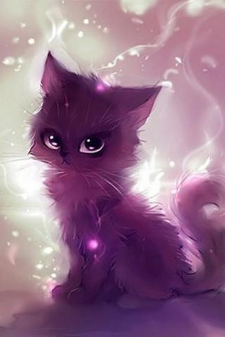 Прикольные и красивые картинки на аву кошки и котики - подборка 2