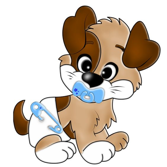 Прикольные картинки щенков для срисовки - милая подборка 10