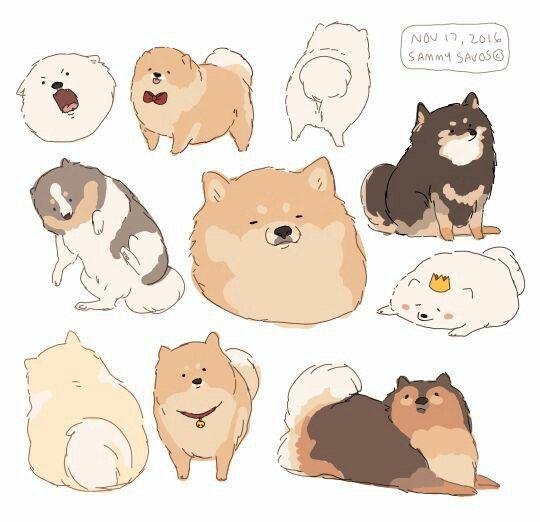 Прикольные картинки щенков для срисовки - милая подборка 13