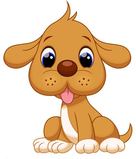 Прикольные картинки щенков для срисовки - милая подборка 14