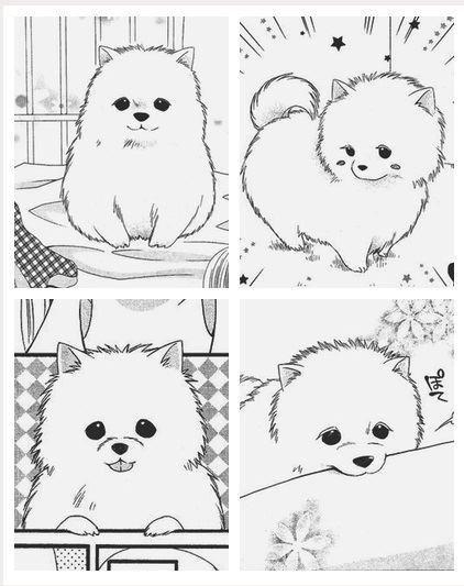 Прикольные картинки щенков для срисовки - милая подборка 8