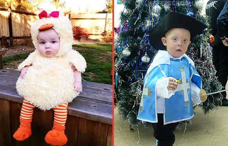 Самые смешные праздничные костюмы для детей - подборка фото 12