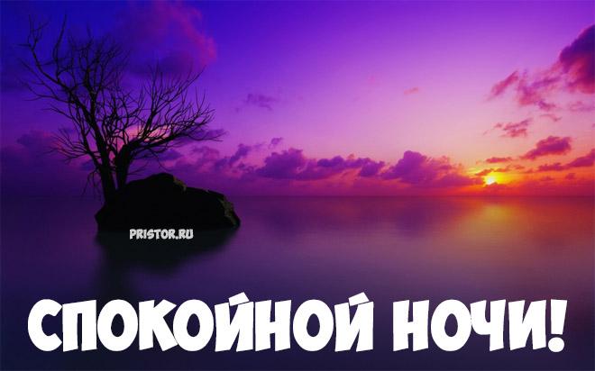 Доброго вечера и спокойной ночи - красивые картинки и открытки 4