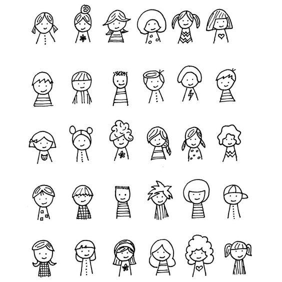 Классные и легкие рисунки, картинки срисовки для ЛД - подборка 9