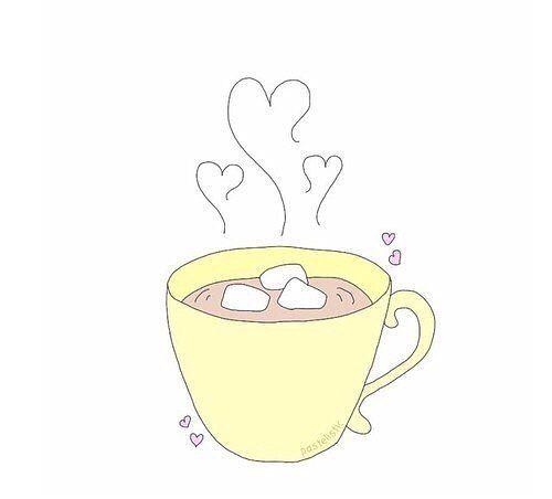 Классные и прикольные картинки для срисовки кофе сборка 2018 5