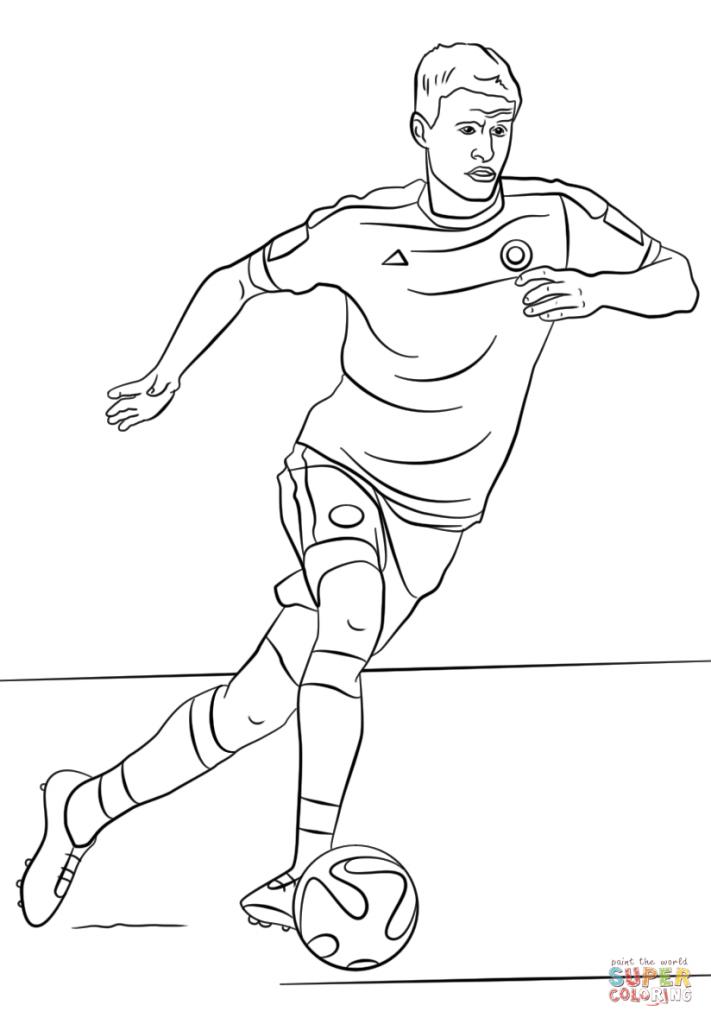 Красивые и прикольные картинки про футбол для срисовки - сборка 13