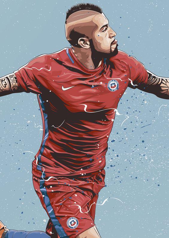 Красивые и прикольные картинки про футбол для срисовки - сборка 15